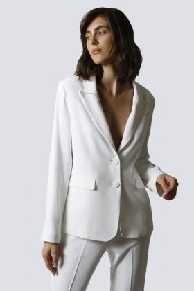Tailleur bianco - Giuliette Brown - Noleggio Drexcode - 2