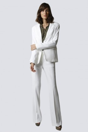 Tailleur bianco - Giuliette Brown - Noleggio Drexcode - 1