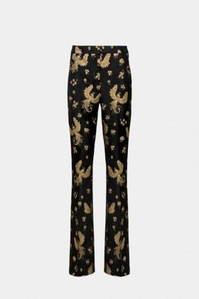 Pantalone fantasia dorata - Giuliette Brown - Noleggio Drexcode - 1