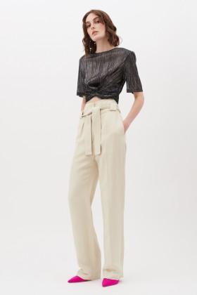 Completo crop top e pantaloni - IRO - Vendita Drexcode - 1