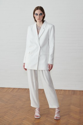 Completo giacca e pantalone bianco - IRO - Noleggio Drexcode - 1