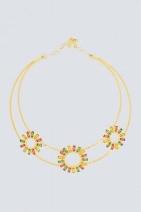 Collana con fiori - Natama - Vendita Drexcode - 1