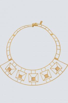Collana geometrica chiara - Natama - Noleggio Drexcode - 1