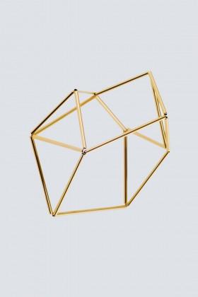 Bracciale origami in rodio  - Noshi - Noleggio Drexcode - 1