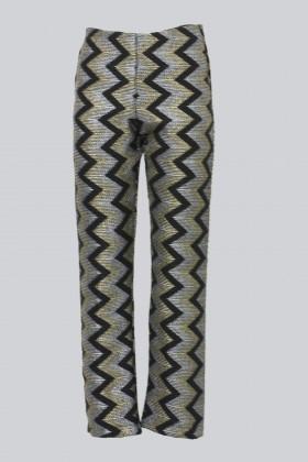Pantalone con motivo geometrico - Alcoolique - Noleggio Drexcode - 1