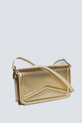 Clutch oro rigida - Vionnet - Noleggio Drexcode - 2