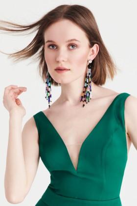 Orecchini pendenti multicolor - Sharra Pagano - Noleggio Drexcode - 1