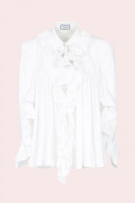 Camicia in cotone con rouches - Redemption - Noleggio Drexcode - 1