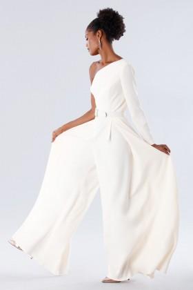Jumpsuit con cintura gioiello - Tot-Hom - Vendita Drexcode - 2