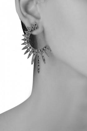 Orecchini pendenti a semicerchio - Nickho Rey - Vendita Drexcode - 2