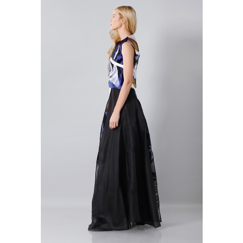 Vendita Abbigliamento Usato FIrmato - Top con toni a contrasto - Vionnet - Drexcode -1