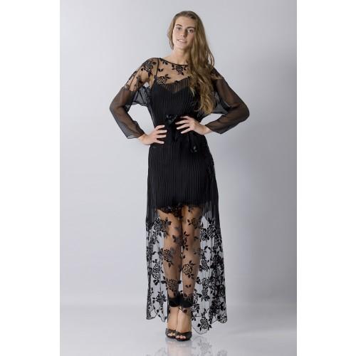 Vendita Abbigliamento Usato FIrmato - Tunica in seta decorata - Blumarine - Drexcode -8