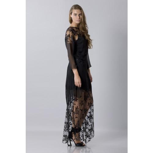 Vendita Abbigliamento Usato FIrmato - Tunica in seta decorata - Blumarine - Drexcode -9