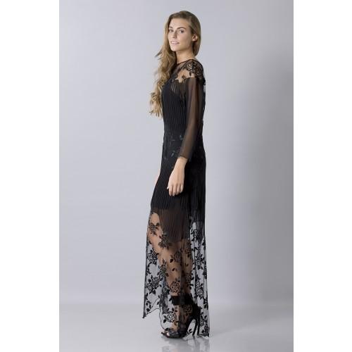Vendita Abbigliamento Usato FIrmato - Tunica in seta decorata - Blumarine - Drexcode -6