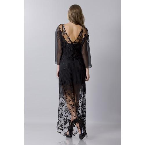 Vendita Abbigliamento Usato FIrmato - Tunica in seta decorata - Blumarine - Drexcode -3