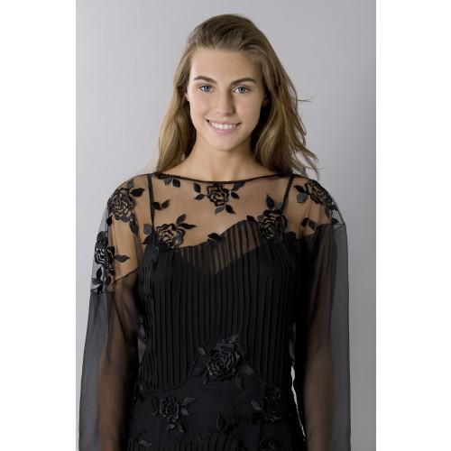 Vendita Abbigliamento Usato FIrmato - Tunica in seta decorata - Blumarine - Drexcode -2