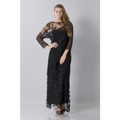 Vendita Abbigliamento Usato FIrmato - Tunica in seta decorata - Blumarine - Drexcode -5