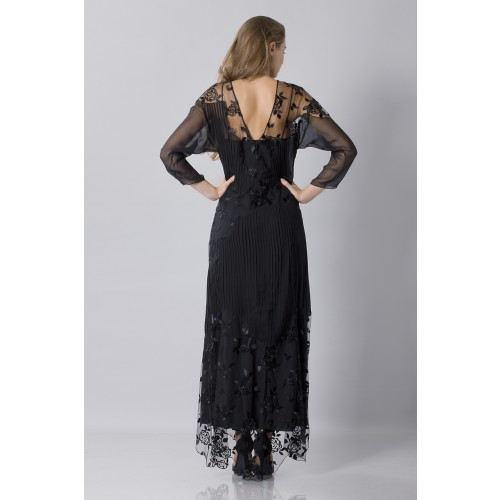 Vendita Abbigliamento Usato FIrmato - Tunica in seta decorata - Blumarine - Drexcode -7