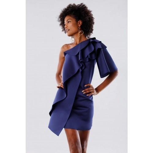 Vendita Abbigliamento Usato FIrmato - Abito con rouches - Paule Ka - Drexcode -1