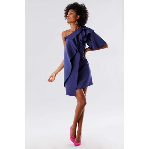 Vendita Abbigliamento Usato FIrmato - Abito con rouches - Paule Ka - Drexcode -2