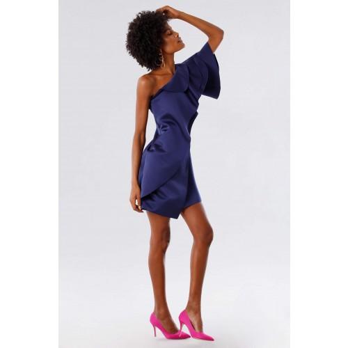 Vendita Abbigliamento Usato FIrmato - Abito con rouches - Paule Ka - Drexcode -3