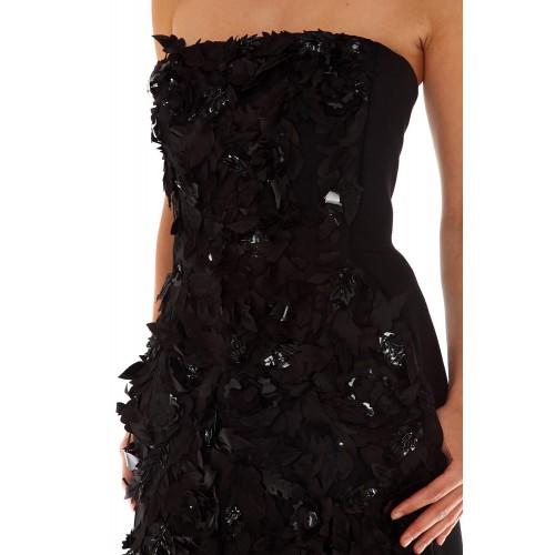 Vendita Abbigliamento Usato FIrmato - Bustier con strass e perline - Alberta Ferretti - Drexcode -1