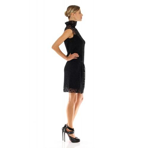 Vendita Abbigliamento Usato FIrmato - Abito in pizzo a collo alto - Nina Ricci - Drexcode -2