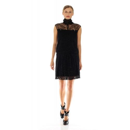 Vendita Abbigliamento Usato FIrmato - Abito in pizzo a collo alto - Nina Ricci - Drexcode -1