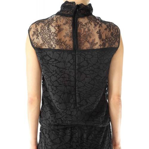 Vendita Abbigliamento Usato FIrmato - Abito in pizzo a collo alto - Nina Ricci - Drexcode -5