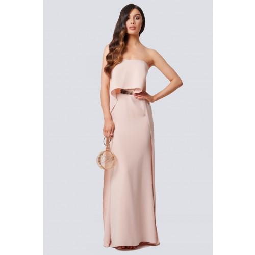 Vendita Abbigliamento Usato FIrmato - Abito nude con drappeggio - Forever unique - Drexcode -1