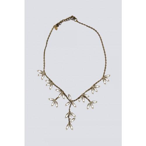 Vendita Abbigliamento Usato FIrmato - Collana con pendenti di cristallo - Tataborello - Drexcode -1