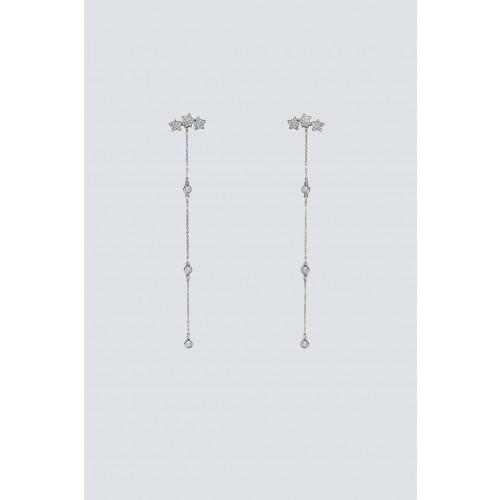 Vendita Abbigliamento Usato FIrmato - Pendenti argento lunghi con stelline - Federica Tosi - Drexcode -1
