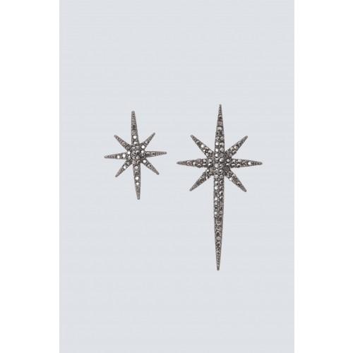 Vendita Abbigliamento Usato FIrmato - Orecchini gemelli a stella - Federica Tosi - Drexcode -1