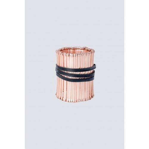 Vendita Abbigliamento Usato FIrmato - Bracciale morbido con cinturino in pelle - Federica Tosi - Drexcode -1