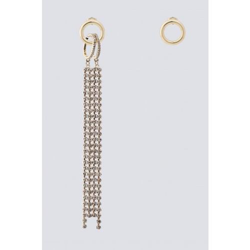 Vendita Abbigliamento Usato FIrmato - Orecchini con pendente - Federica Tosi - Drexcode -1