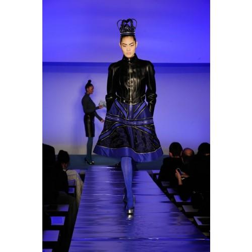 Vendita Abbigliamento Usato FIrmato - Abito in crepe di seta con zip - Jean Paul Gaultier - Drexcode -2