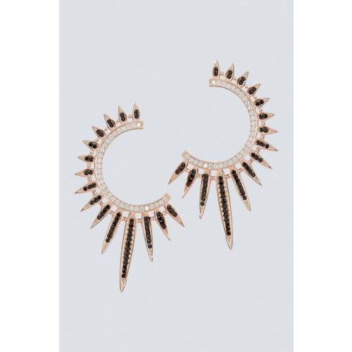 Vendita Abbigliamento Usato FIrmato - Orecchini pendenti a semicerchio - Nickho Rey - Drexcode -1
