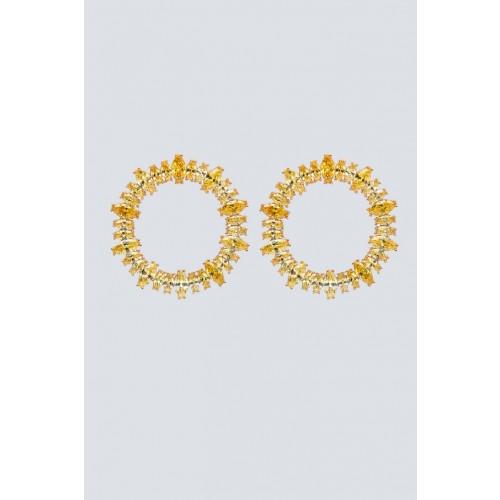Vendita Abbigliamento Usato FIrmato - Orecchini stud a cerchio - Nickho Rey - Drexcode -1