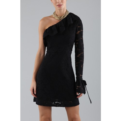 Vendita Abbigliamento Usato FIrmato - Abito corto monospalla in pizzo - Philosophy - Drexcode -2