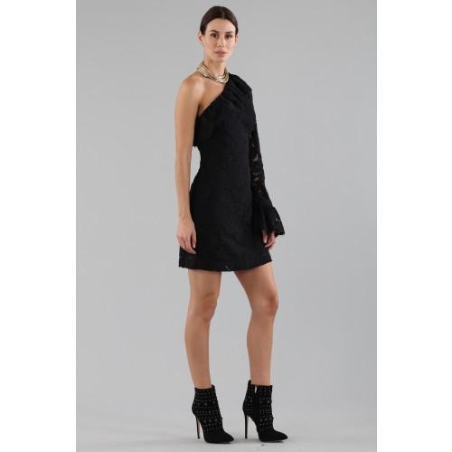Vendita Abbigliamento Usato FIrmato - Abito corto monospalla in pizzo - Philosophy - Drexcode -6