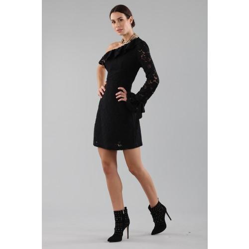 Vendita Abbigliamento Usato FIrmato - Abito corto monospalla in pizzo - Philosophy - Drexcode -3