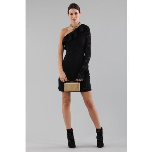 Vendita Abbigliamento Usato FIrmato - Abito corto monospalla in pizzo - Philosophy - Drexcode -5