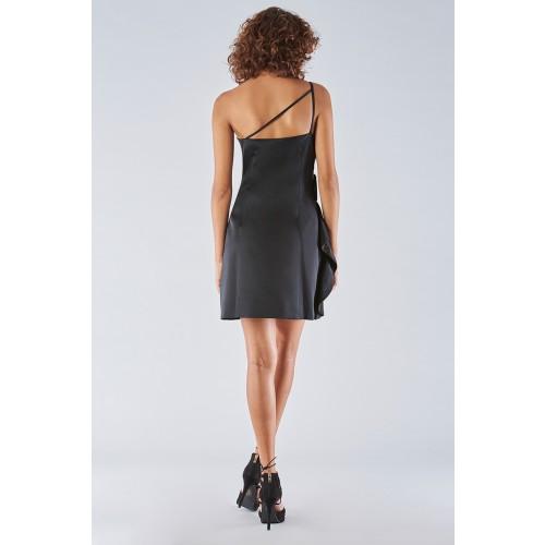Vendita Abbigliamento Usato FIrmato - Abito corto nero con spallina - Amur - Drexcode -6