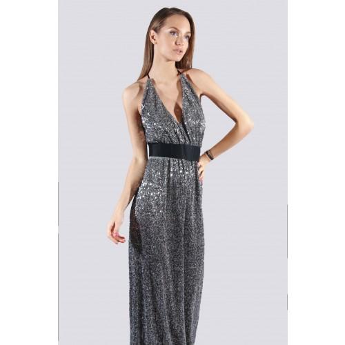 Vendita Abbigliamento Usato FIrmato - Abito lungo con micro-paillettes - Drexcode - Drexcode -2