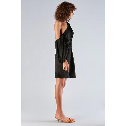 Vendita Abbigliamento Usato FIrmato - Abito monospalla con manica off-shoulder - Amur - Drexcode -5