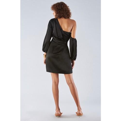 Vendita Abbigliamento Usato FIrmato - Abito monospalla con manica off-shoulder - Amur - Drexcode -6