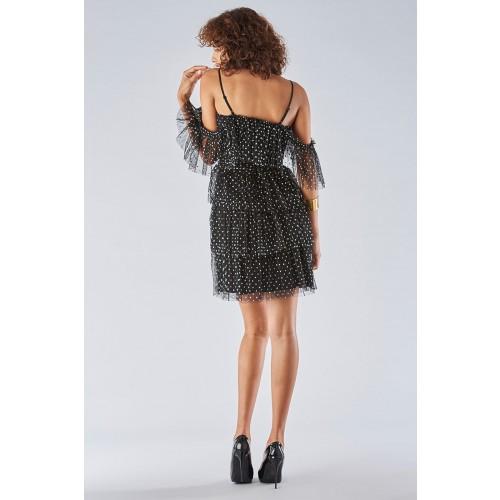 Vendita Abbigliamento Usato FIrmato - Abito off  shoulder con rouches - Forever unique - Drexcode -5