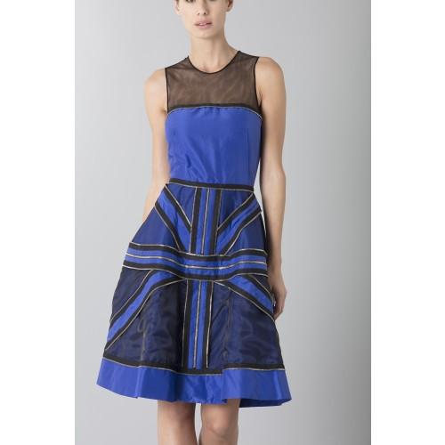 Vendita Abbigliamento Usato FIrmato - Abito in crepe di seta con zip - Jean Paul Gaultier - Drexcode -9