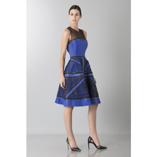 Vendita Abbigliamento Usato FIrmato - Abito in crepe di seta con zip - Jean Paul Gaultier - Drexcode -10