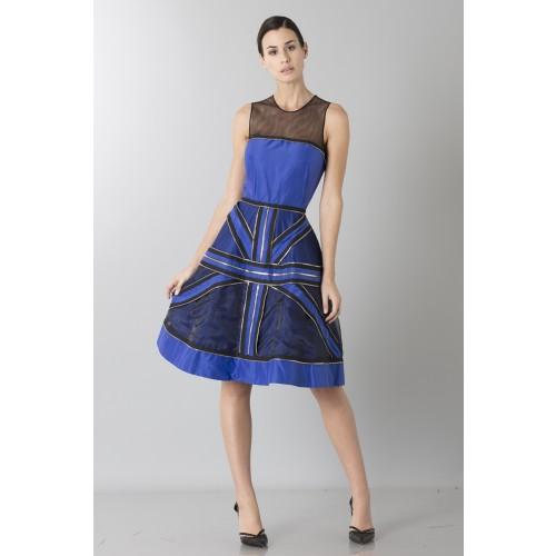 Vendita Abbigliamento Usato FIrmato - Abito in crepe di seta con zip - Jean Paul Gaultier - Drexcode -12